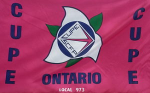 973 CUPE Flag
